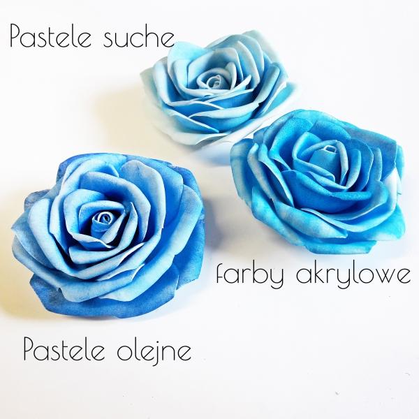 Jak Barwic Kwiaty Z Foamiranu Blog Creativehobby Pl
