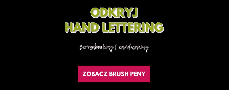 Poznaj flamastry pędzelkowe Tombow do hand letteringu!