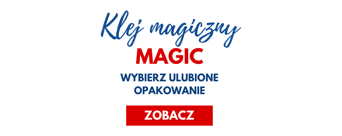 Magiczny klej Magic do scrapbookingu