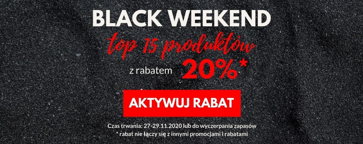 Super rabat na Black Weekend!