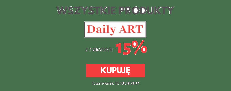 Promocja na produkty Daily Art