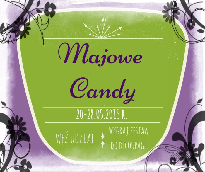 Majowe Candy na Facebooku