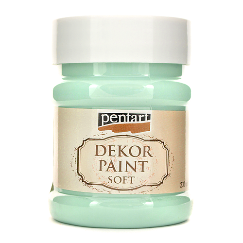 Farba Dekor Paint Soft 230 ml - country niebieski