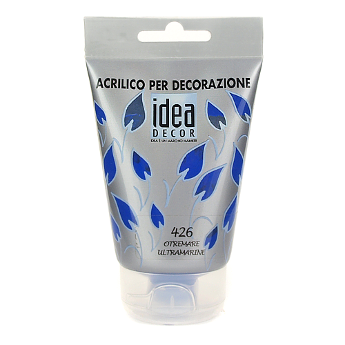 Farba akrylowa Decor Idea 110 ml - ultramaryna