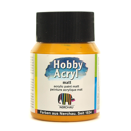 Hobby Acryl matt 59 ml - curry