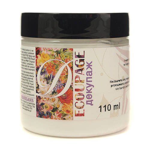 Klej wodny do decoupage Renesans - 110 ml