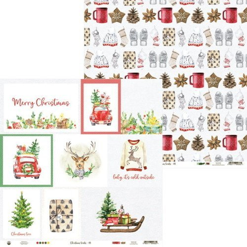 Papier 30x30 Christmas treats 05 scrapbooking