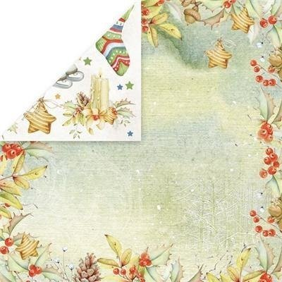 Papier do scrapbookingu 30,5x30,5 Winter Dream - 02