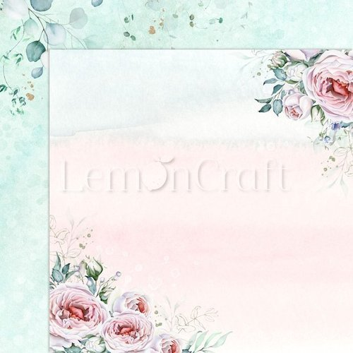 Papier do scrapbookingu 30x30 cm Blush 01