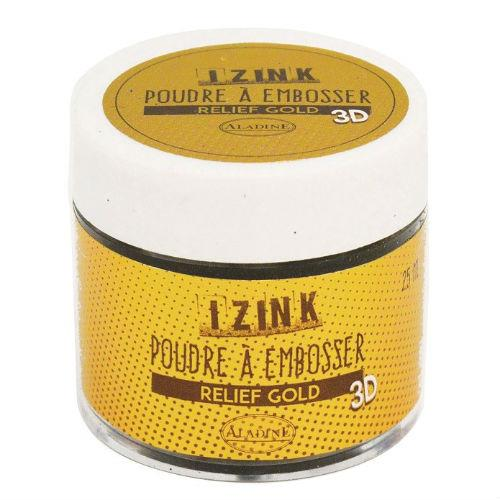 Puder do embossingu 25 ml - złoty