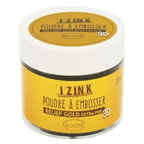 Puder do embossingu 25ml Aladine GOLD EKSTRADROBNE