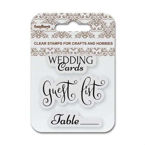 Stemple ozdobne - Wedding cards