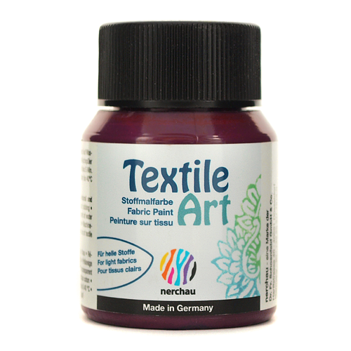 Textile Art 59 ml - bordowy