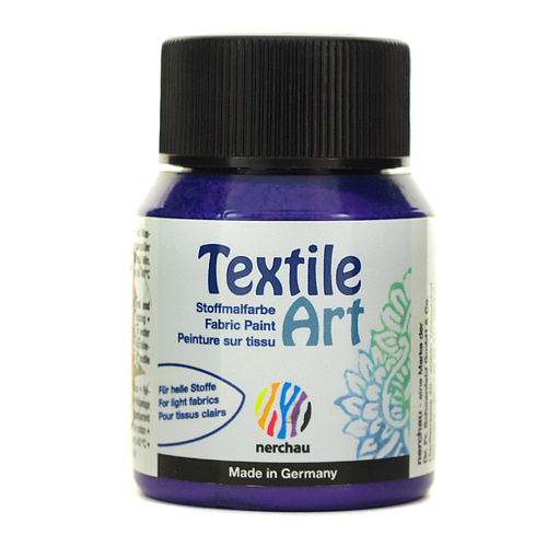 Textile Art 59 ml - fioletowy metalik