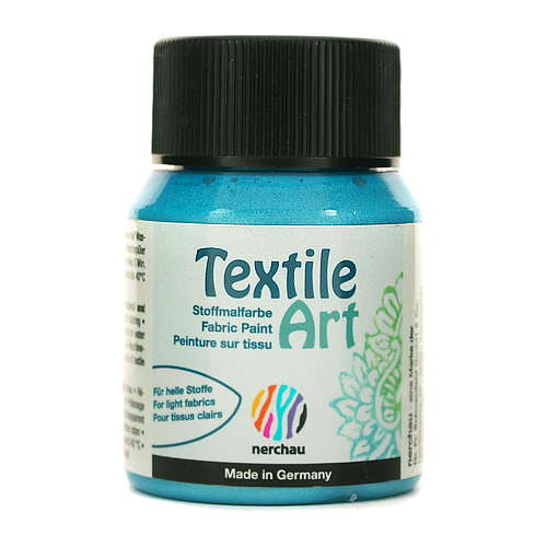 Textile Art 59 ml - niebieski metalik