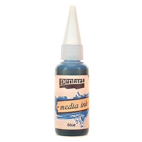 Tusz Media Ink 20 ml - blue