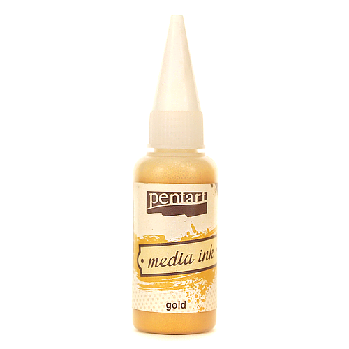 Tusz Media Ink 20 ml - gold