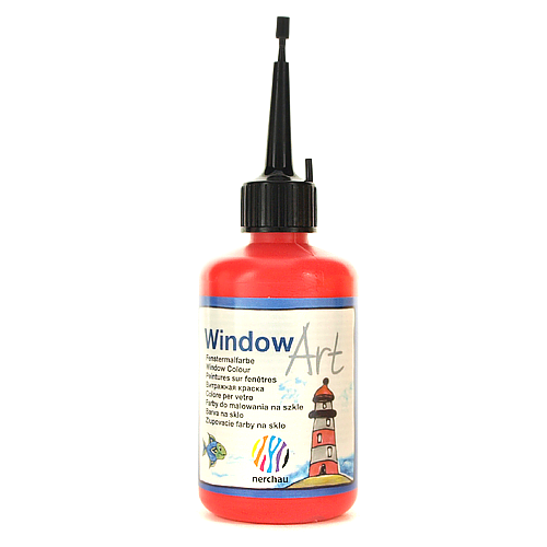 Window Art 80 ml - czerwony