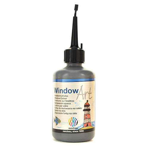 Window Art 80 ml - konturówka antracytowa