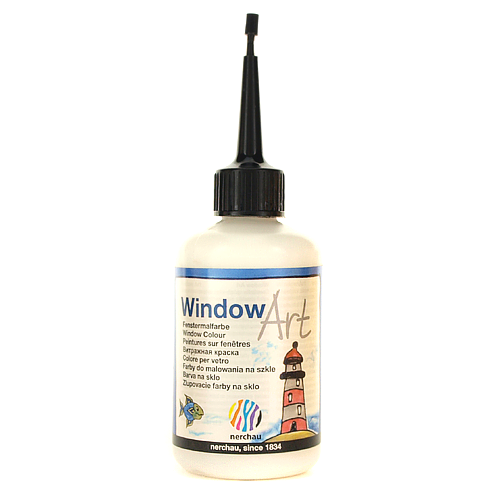 Window Art 80 ml - konturówka srebrna perłowa