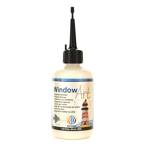 Window Art 80 ml - srebrny perłowy