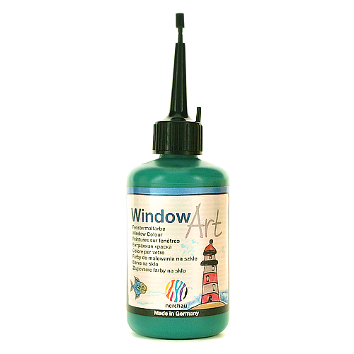 Window Art 80 ml - zielony ciemny