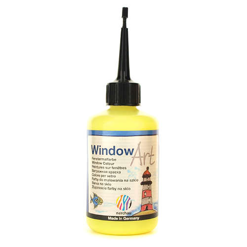 Window Art 80 ml -  żółty neonowy