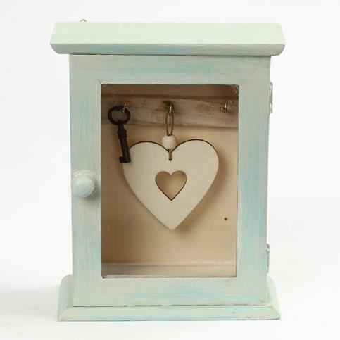 3176c96c4b0447 Drewniana szafka na klucze z szybką Creativ - sklep internetowy ...