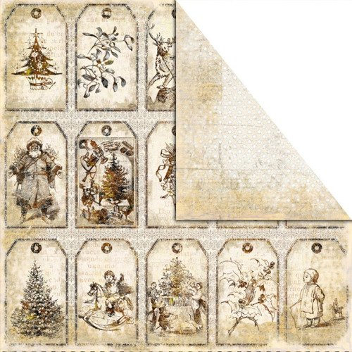 Papier Old-Fashioned Christmas 30,5x30,5 cm CRACKER