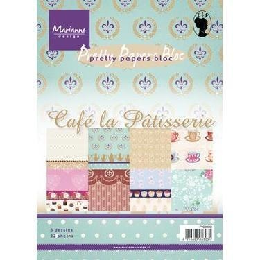 Papier do cardmakingu 15x21 cm Cafe la Patisserie