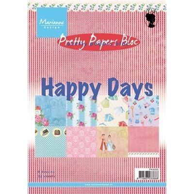 Papier do cardmakingu A5 32 szt.- HappyDays