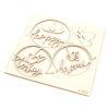 Scrapy chipboard set - happy